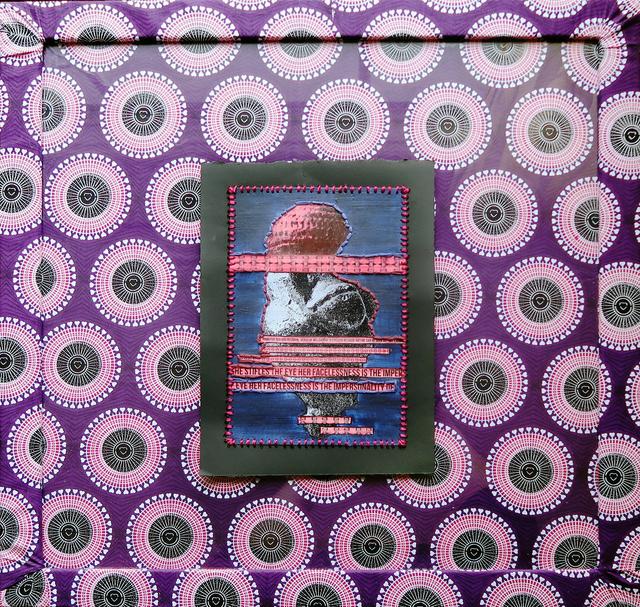 , 'Paglia's Venus (Purple & Magenta),' 2017, Coagula Curatorial