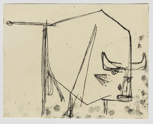, 'Bull,' 1953-1954, Annely Juda Fine Art