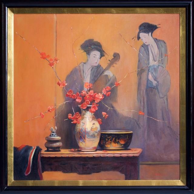 , ''Red Japonica' ,' 2014, Wentworth Galleries