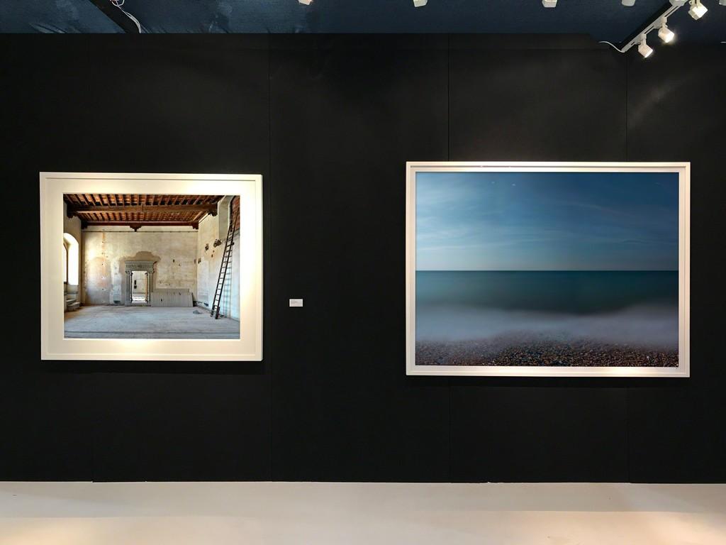 """Massimo Listri, """"Palazzo Bardini II, Firenze"""" André Lichtenberg, """"Madeira Drive (Impossible Utopia)"""""""