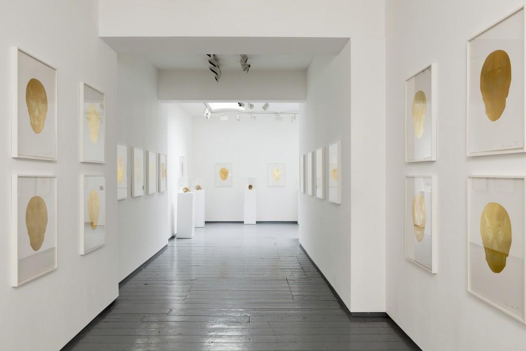 Installation at Paul Stolper Gallery - Damien Hirst - Death or Glory October 07, 2011 - November 12, 2011