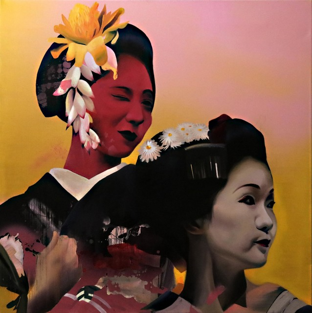 Manu Muñoz, 'Maiko couple', 2017, Blanca Soto Arte