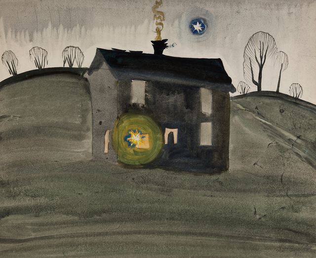 , 'Untitled (House on a Hill),' 1917, Questroyal Fine Art