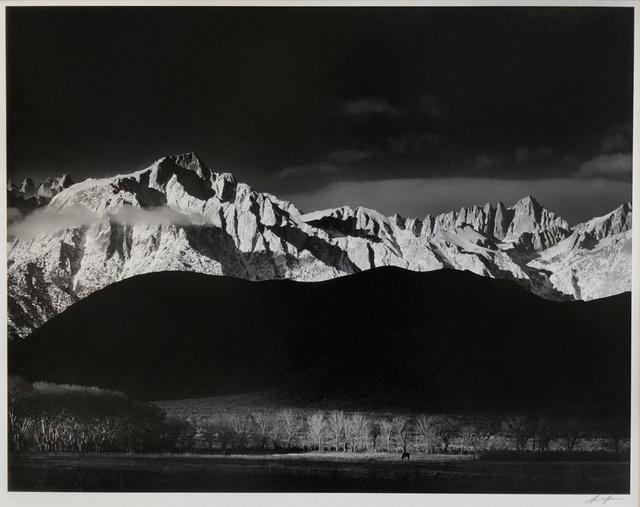 , 'Winter Sunrise, Sierra Nevada from Lone Pine, California,' 1944, Charles A. Hartman Fine Art