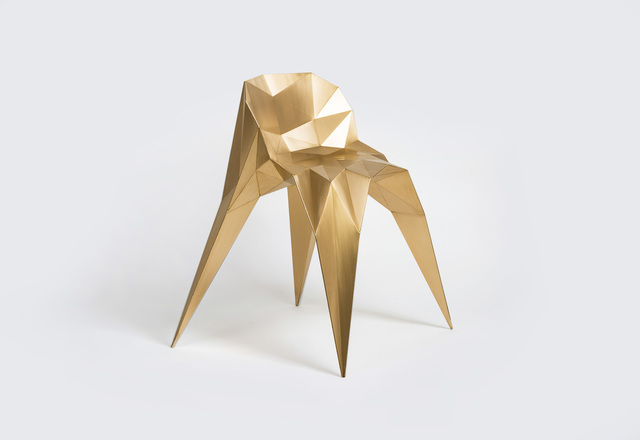 , 'Spider Chair (SQN1-F2C) Brass,' 2014, Gallery ALL