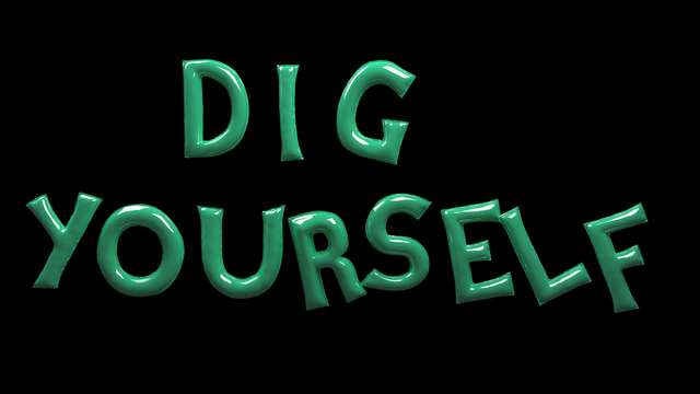 , 'Dig Yourself,' 2015, Laure Genillard