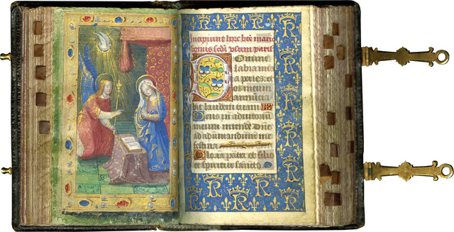 , 'The Petites Heures of Charles VIII, King of France (r. 1483-1498) ,' c. 1490-1493 (before 1494), Les Enluminures