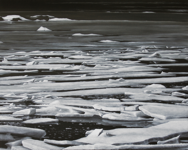 , 'Frozen Lagoon,' 2010, James Baird