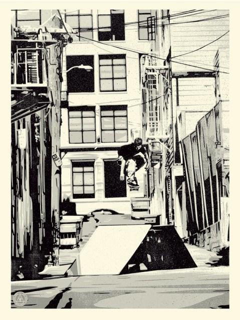 Shepard Fairey (OBEY), 'Obey x Huf San Francisco '93', 2016, AYNAC Gallery