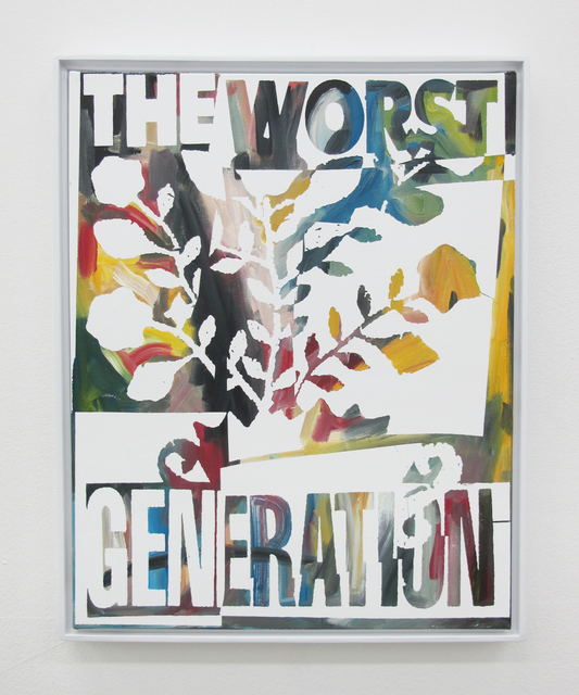 , 'The Worst Generation,' 2016, V1 Gallery