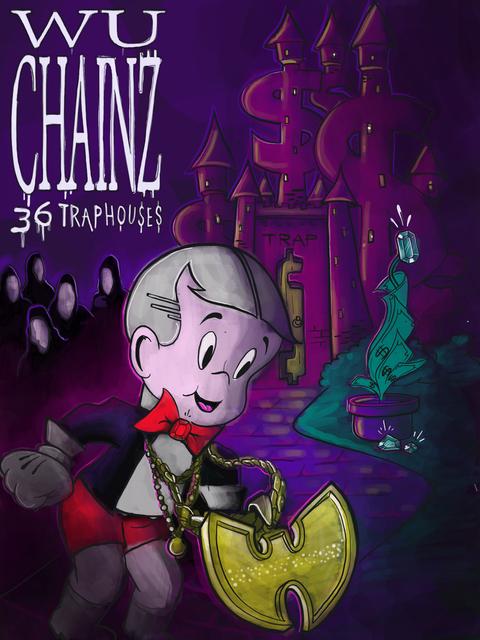 , 'Wu Chains 36 Trap Houses,' 2018, Graffik Gallery / Banksy Editions