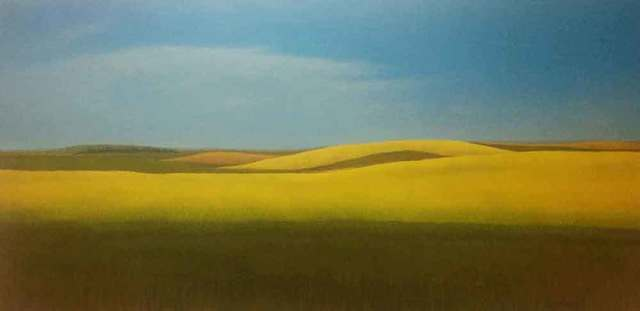 CAROL KAPUSCINSKY, 'A Brilliant Day Driving Along Hwy 21 in North Dakota', 2017, Galerie Blanche