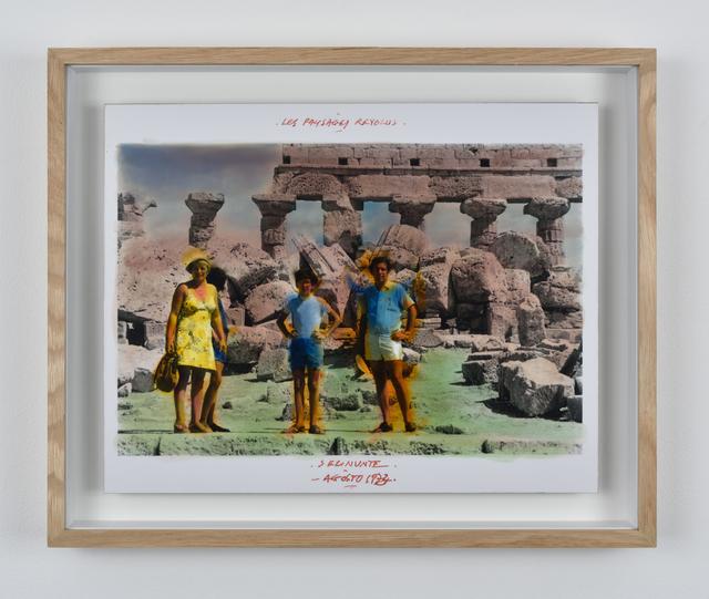 , 'Série Les Paysages Révolus, Selinunte, Agosto  ,' 1973, Galerie Mitterrand
