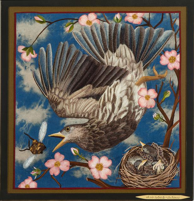 , 'Bird and Bee,' 2018, Antieau Gallery