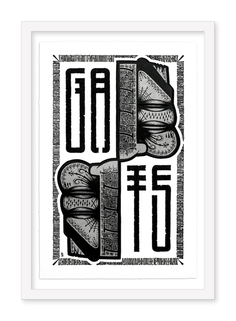 GATS, 'Upper Face Flip', 2017, Hashimoto Contemporary