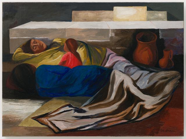 José Clemente Orozco, 'Sleeping (The Family)', 1930, San Francisco Museum of Modern Art (SFMOMA)