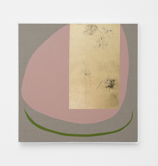, 'Hair Orchid Sweat Print, Pink Form with Green,' 2018, SMAC