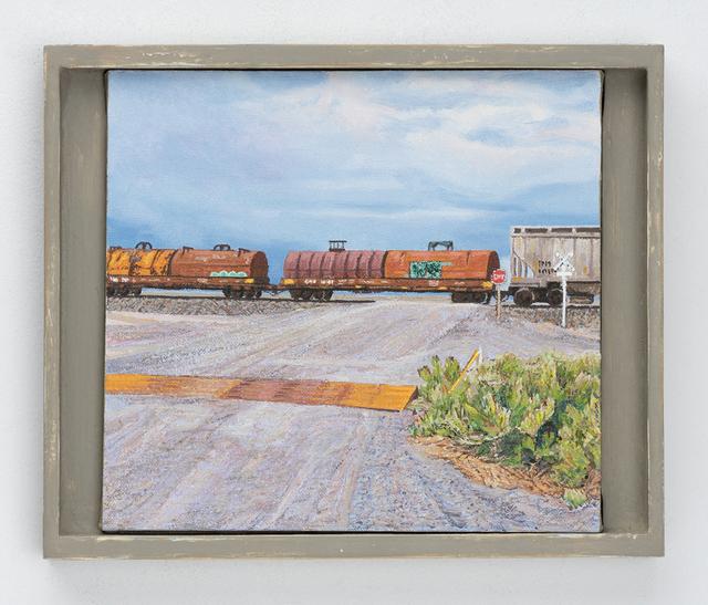 , 'Railroad Crossing, Millard County, Utah,' 2011, Valley House Gallery & Sculpture Garden