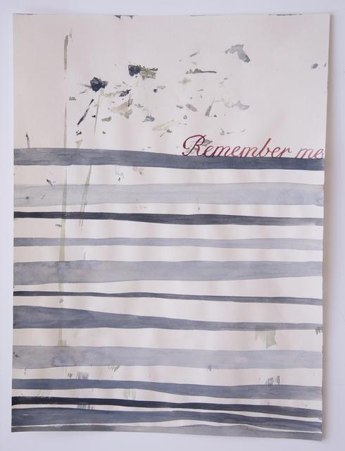 , 'Domestic Textiles Series, Remember Me,' 2018, frosch&portmann