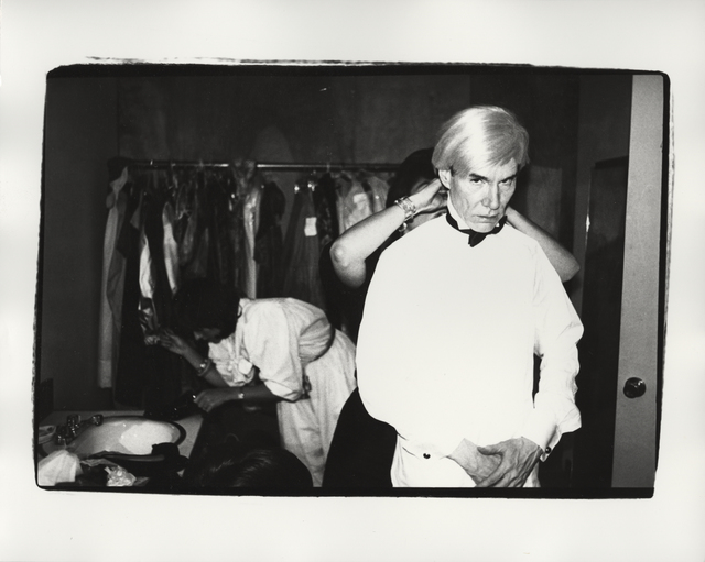 Andy Warhol, 'Andy and Friend', ca. 1982, Photography, Unique gelatin silver print, Christie's Warhol Sale