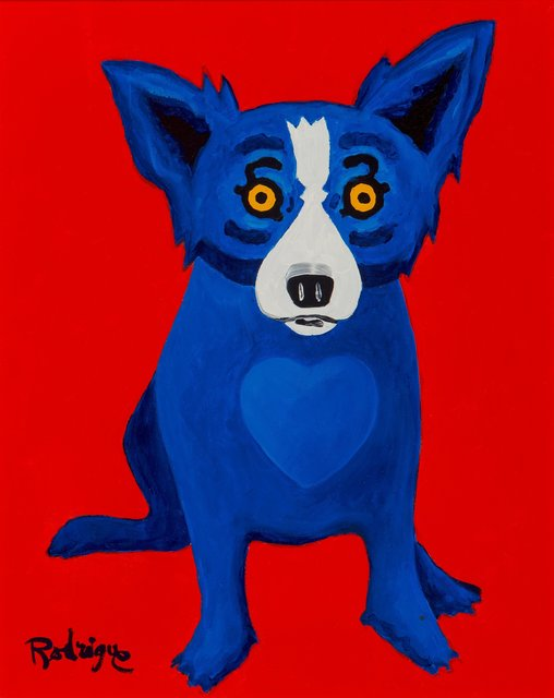 George Rodrigue, 'With a Warm Heart', 1998, Heritage Auctions