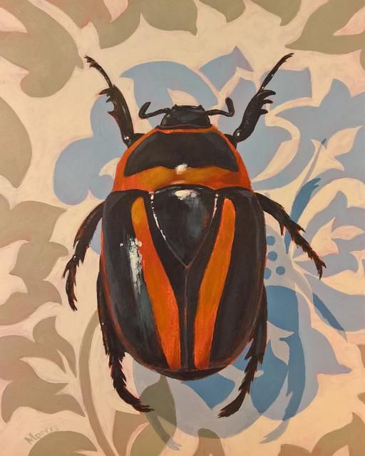 Kevin Morris, 'Beetle on Damasc', 2018, Cerbera Gallery