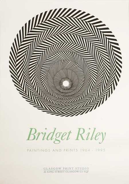 Bridget Riley, 'Glasgow Print Studio Poster', 1996, Sworders