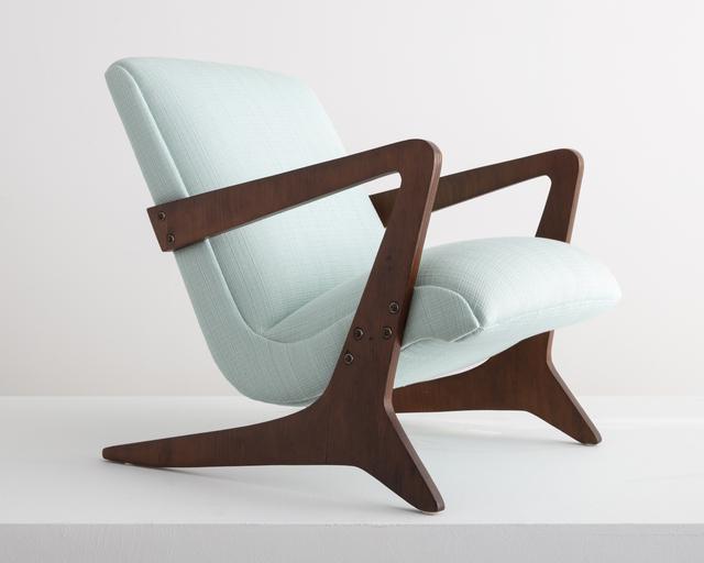 José Zanine Caldas, 'Upholstered arm chair', 1949, R & Company