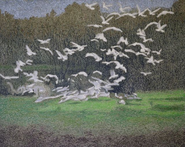 , 'The Birds,' 2018, Galleri Tom Christoffersen