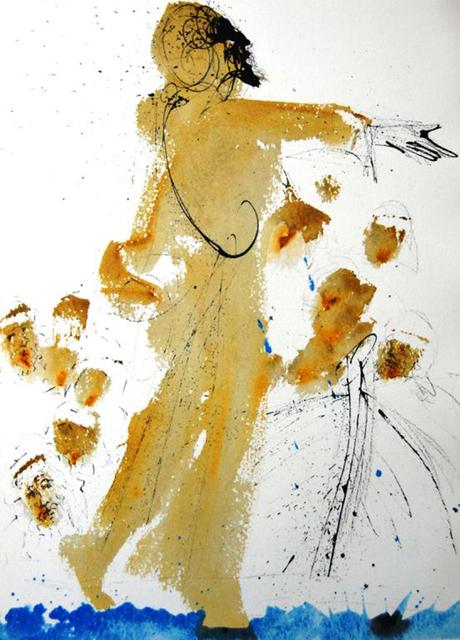 Salvador Dalí, 'Jesus Walking On The Sea', 1967, Baterbys