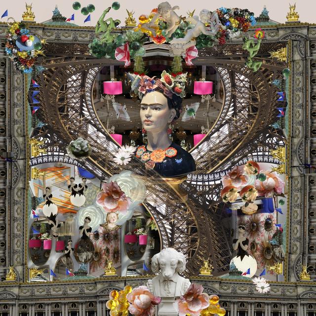 Gwen Adler, 'Paris Square, after Giorgio de Chirico', 2019, bG Gallery