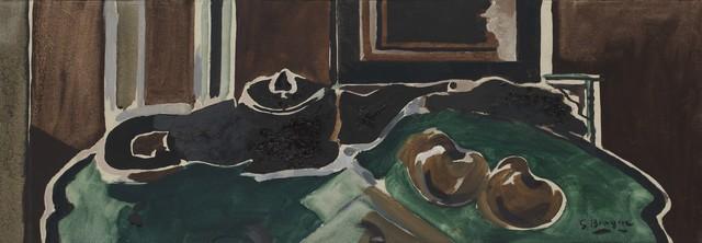 , 'Nature morte à la théière (fond vert),' 1957, Galerie Michael Haas