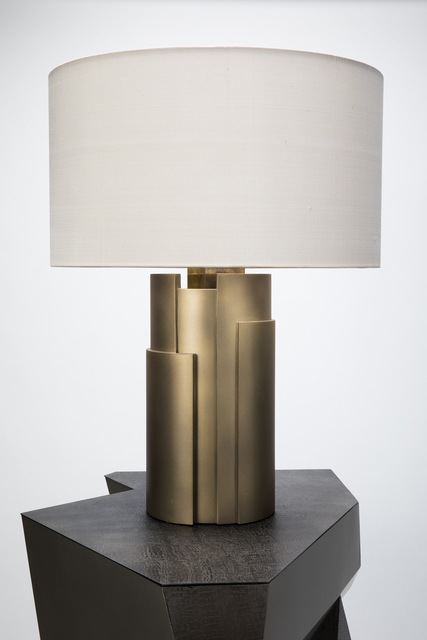 , 'Table Lamp Cuspide in Gold antiques,' 2016 -2017, Garrido Gallery