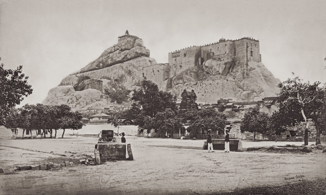 , 'Rock Of Trichinopoly ,' 1869, Getty Images Gallery