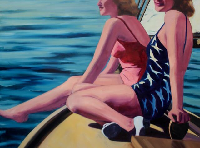 TS Harris, 'Seabreeze', 2016, Painting, Oil on canvas, Quidley & Company