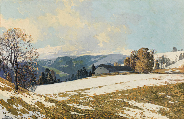 , 'Early Spring in the Alpine Upland,' ca. 1920, Galerie Kovacek & Zetter