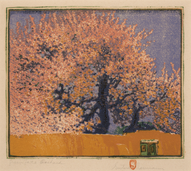 , 'Green Gate Orchard,' 1923, Aaron Payne Fine Art