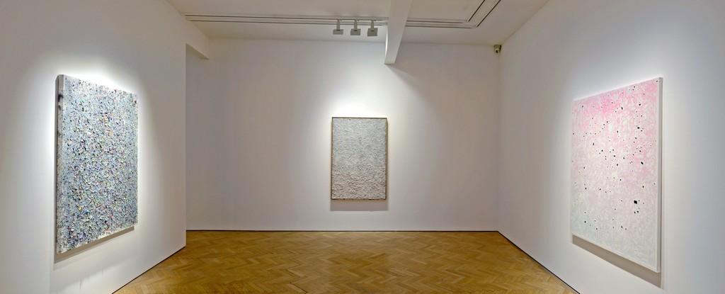 Installation View: Kadar Brock rdnsxi, 2013-2014, residuumv and deredemirtdx(ffbsts), 2013-14