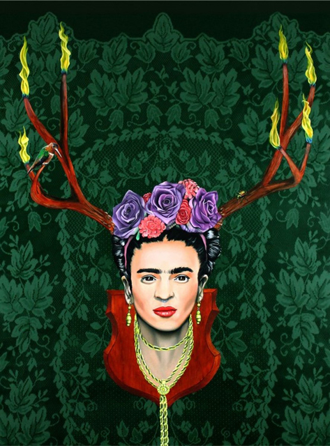 , 'Fiery Frida Kahlo,' 2012-2019, {9} The Gallery