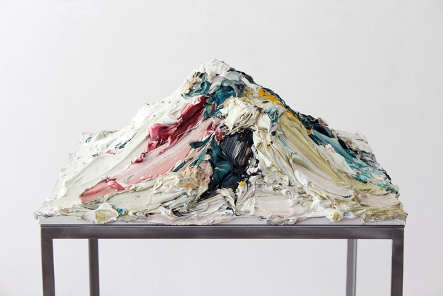 , 'A certain aspect (mountain),' 2014, SEXAUER Gallery