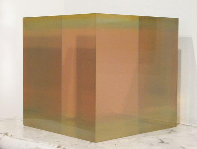 , 'Resin cube,' 1968, Vivian Horan Fine Art