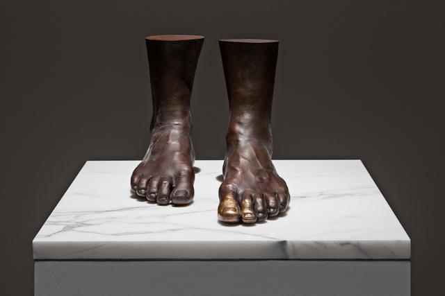 Michelangelo Pistoletto, 'Il bacio al piede,' 1976-2013, Galleria Continua