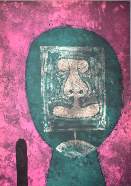 Rufino Tamayo, ' Green Head, from: 15 Lithographs | Cabeza en verde: 15 litografías', 1973, Gilden's Art Gallery