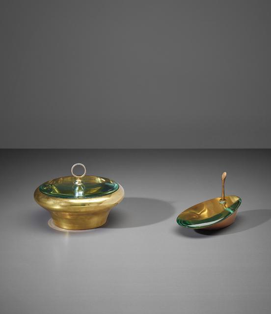 Fontana Arte, 'Two lidded boxes', 1940s, Phillips