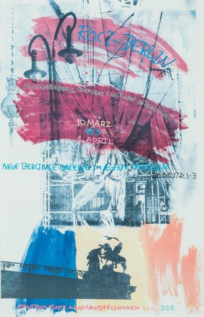 Robert Rauschenberg, 'ROCI', 1990, Heritage Auctions