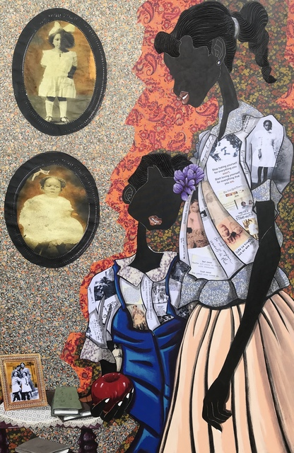 , 'Sisterly Love,' 2019, Richard Beavers Gallery