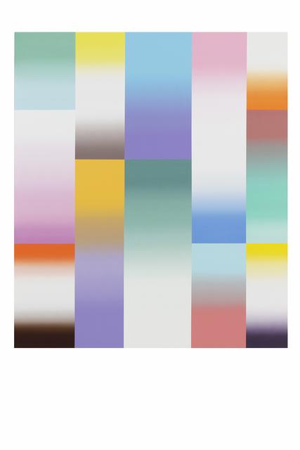 Ien Lucas, 'Bright Windows', 2021, Painting, Acrylic on canvas, Priveekollektie Contemporary Art | Design