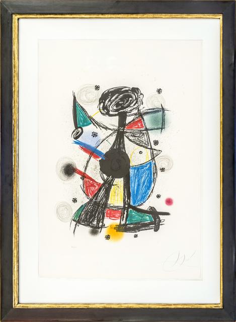 Joan Miró, 'Arlequin Arificier', 1980, Hagemeier