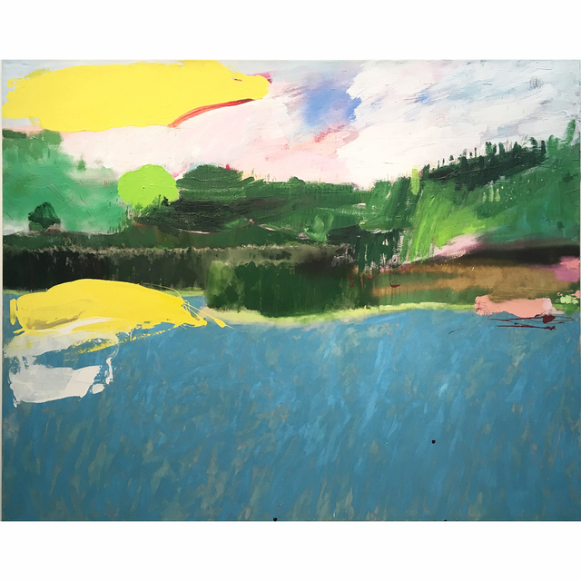 , 'Lake Hollywood,' 2017, Bruce Lurie Gallery