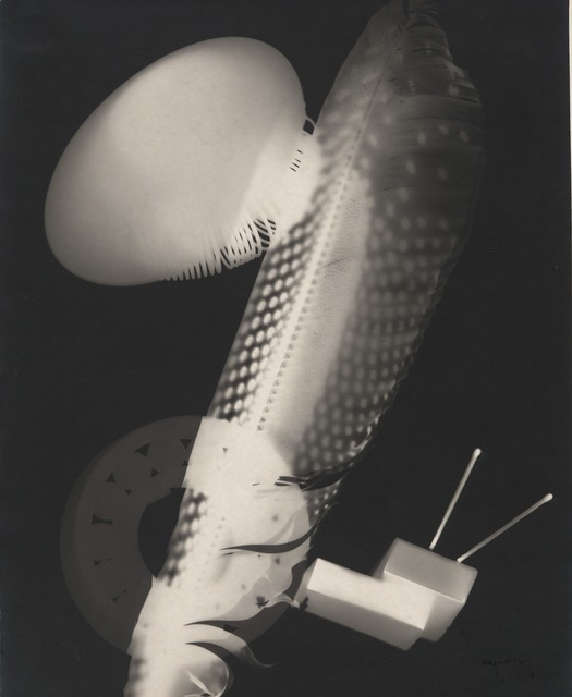 Man Ray, 'Feather and Matchboxes', 1923, Yale University Art Gallery